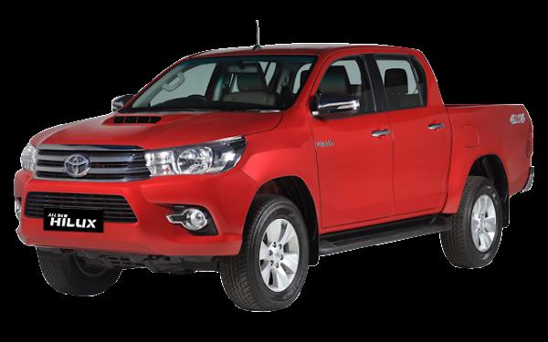 Pilihan Warna Variasi Modifikasi Mobil HILUX - DOUBLE CABIN Merah Biru Coklat Silver Hitam Putih Terbaru 2018 Nasmoco Wilayah Banda Aceh, Medan, Sumatra Utara