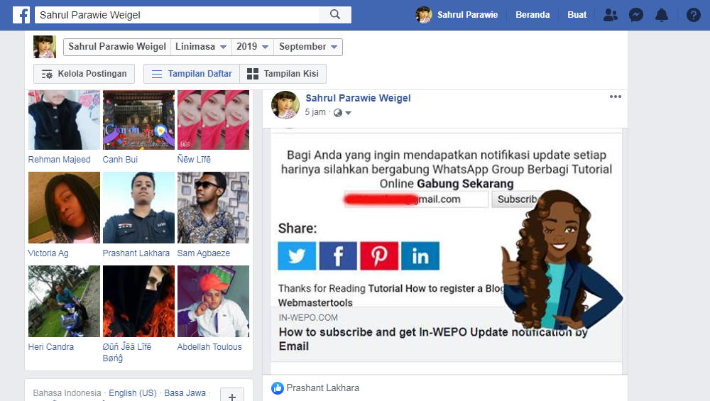 Promote Blog on Facebook