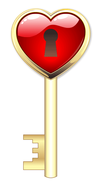 Heart Key Image