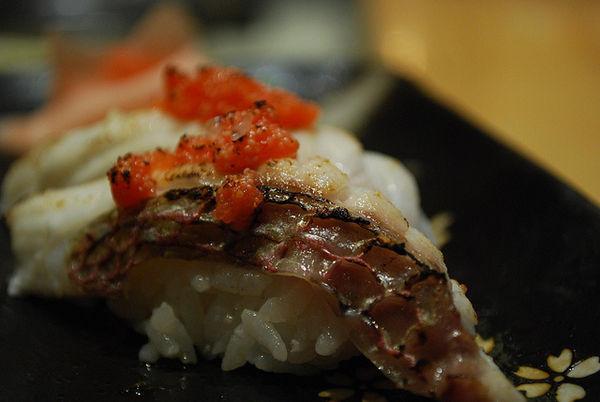 ซูชิปลาคุโรได, ปลาแบล็กซีบรีม (Kurodai)