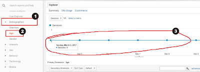 Analisis Usia Pengunjung Blog di Google Analytics