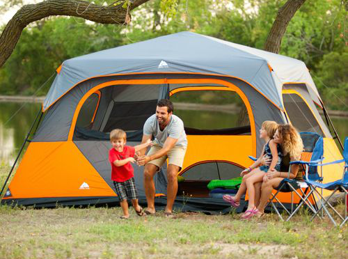 Walmart Tents Have Tent Pole Problems & Camping With Kennedy: Outdoor Camping Tents from Walmart
