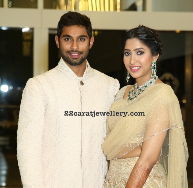 Anindith Reddy Shriya Bhupal Pre Wedding Bash