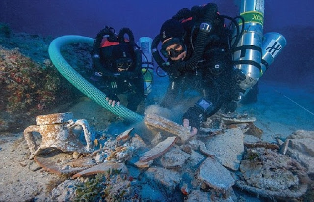 Antikythera seabed the subject of another underwater search
