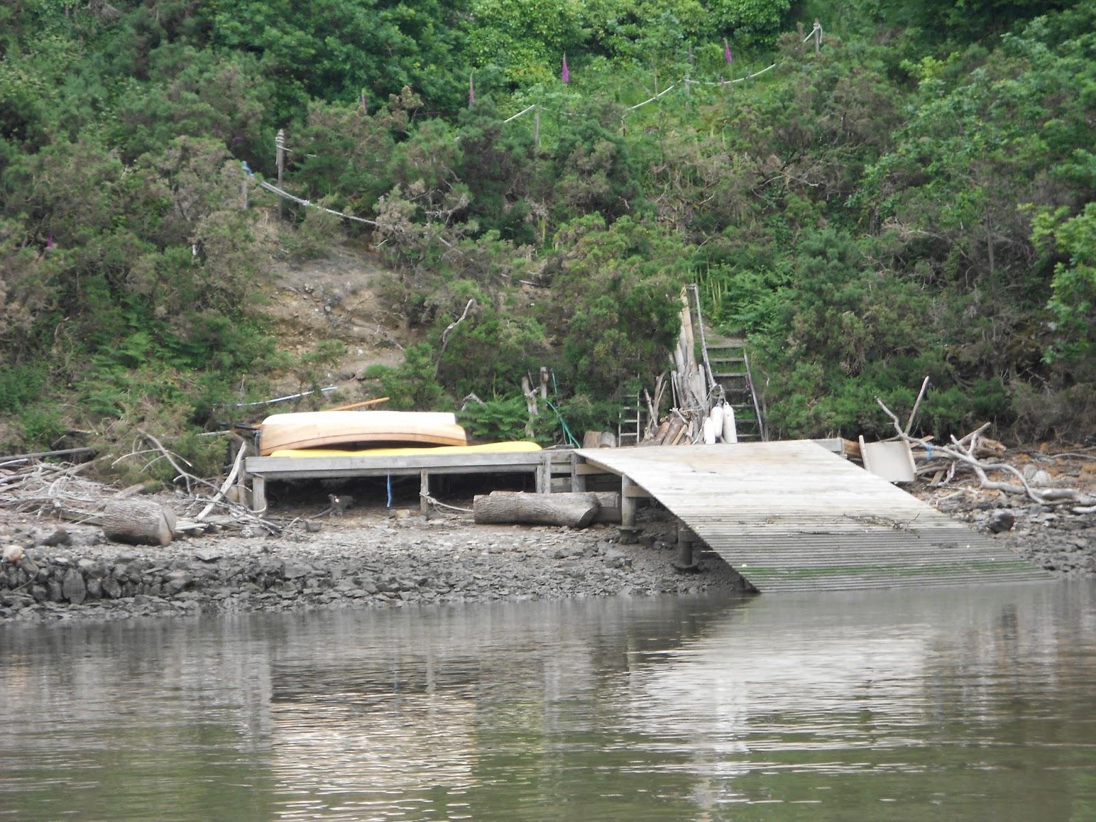 "alt=""Dinghy cruising river Tamar"""