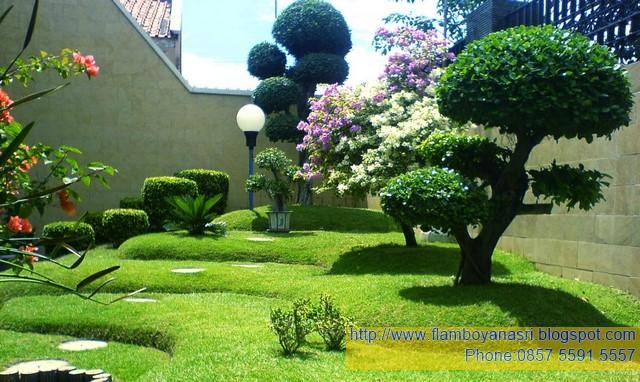 Foto Taman Klasik Tukang Taman Surabaya - JASA TUKANG