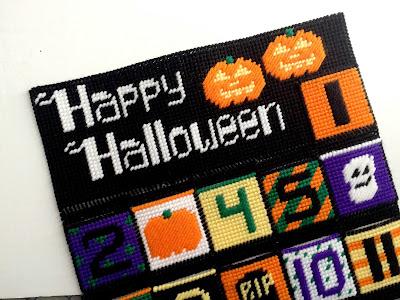 Happy Halloween Countdown Calendar Header