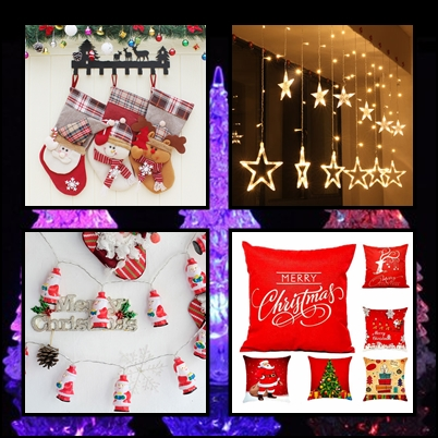 Świąteczne dekoracje / Banggood