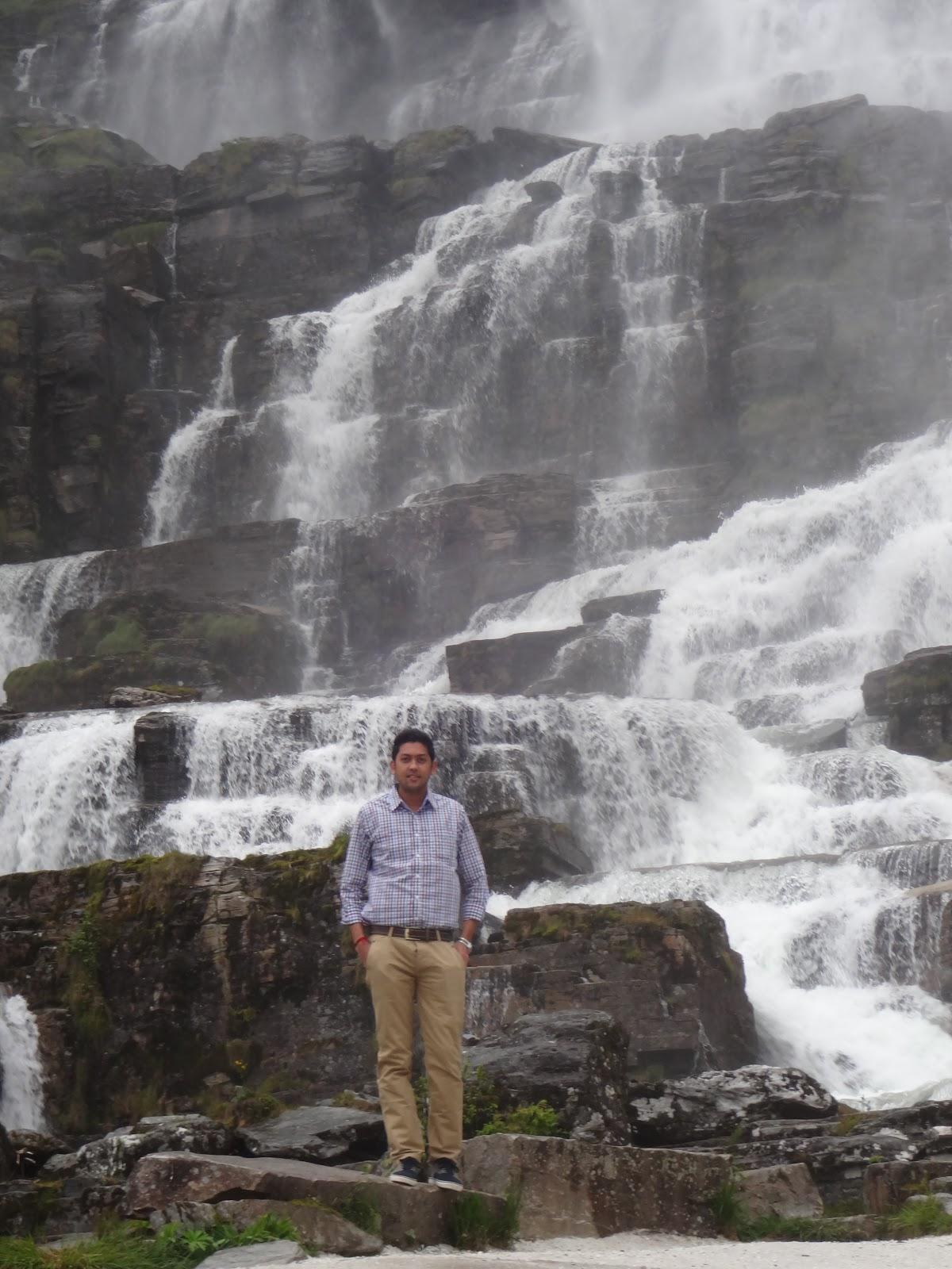 Waterfall near Gudvangen
