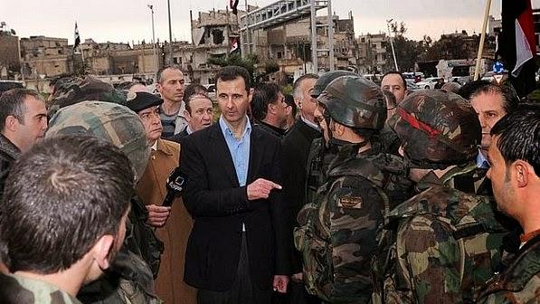 Rebeldes islâmicos combatem Exército sírio próximo a cidade-natal de Assad