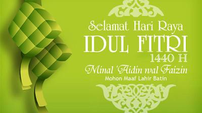 Kartu Ucapan Selamat Hari Raya Idul Fitri 1440 H