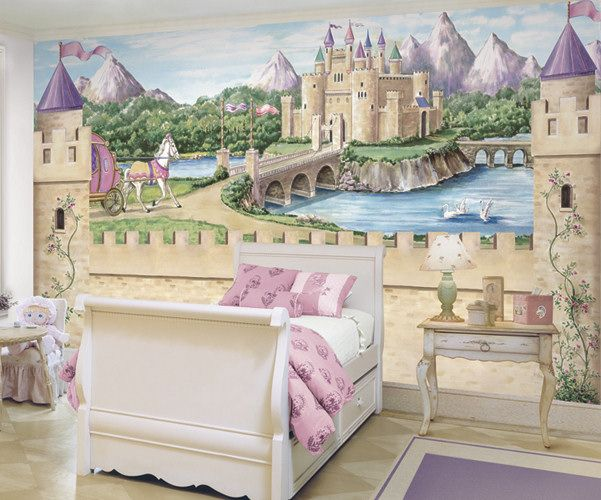 Castle Wall Mural