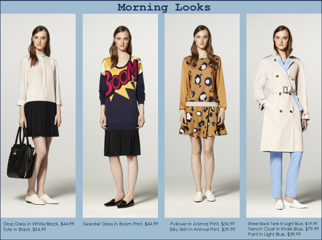 3.1 Phillip Lim Collection for Target - Morning Looks