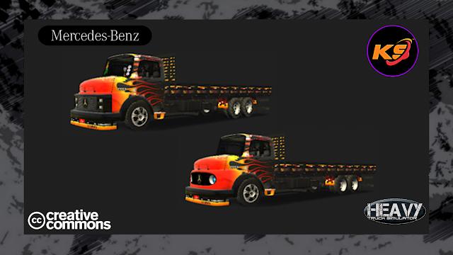 KIVEL SKINZ - MB 1113 /1313 BLACK FIRE