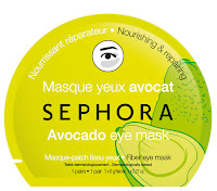 sephora avocado Fiber eye mask