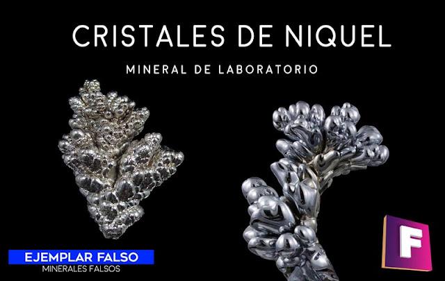 niquel cristales minerales falsos | foro de minerales