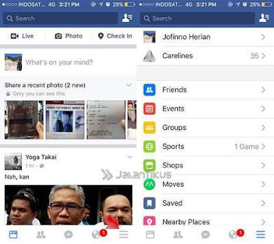 Cara Menonaktifkan Autoplay Video Facebook di iPhone