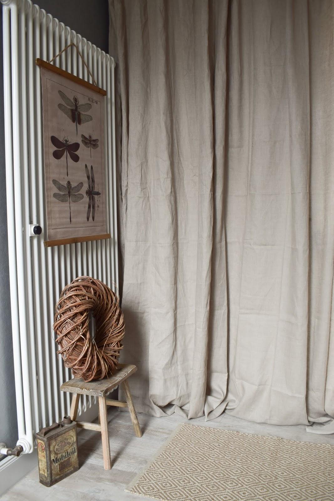 Dekoidee Leinwanddruck botanisch Heizkörper Verschönerung Kaschieren Deko dekorieren