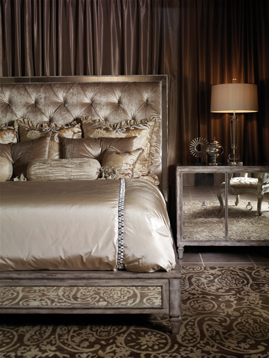 Home Interior Decorating Old Hollywood Glamour Bedroom Ideas