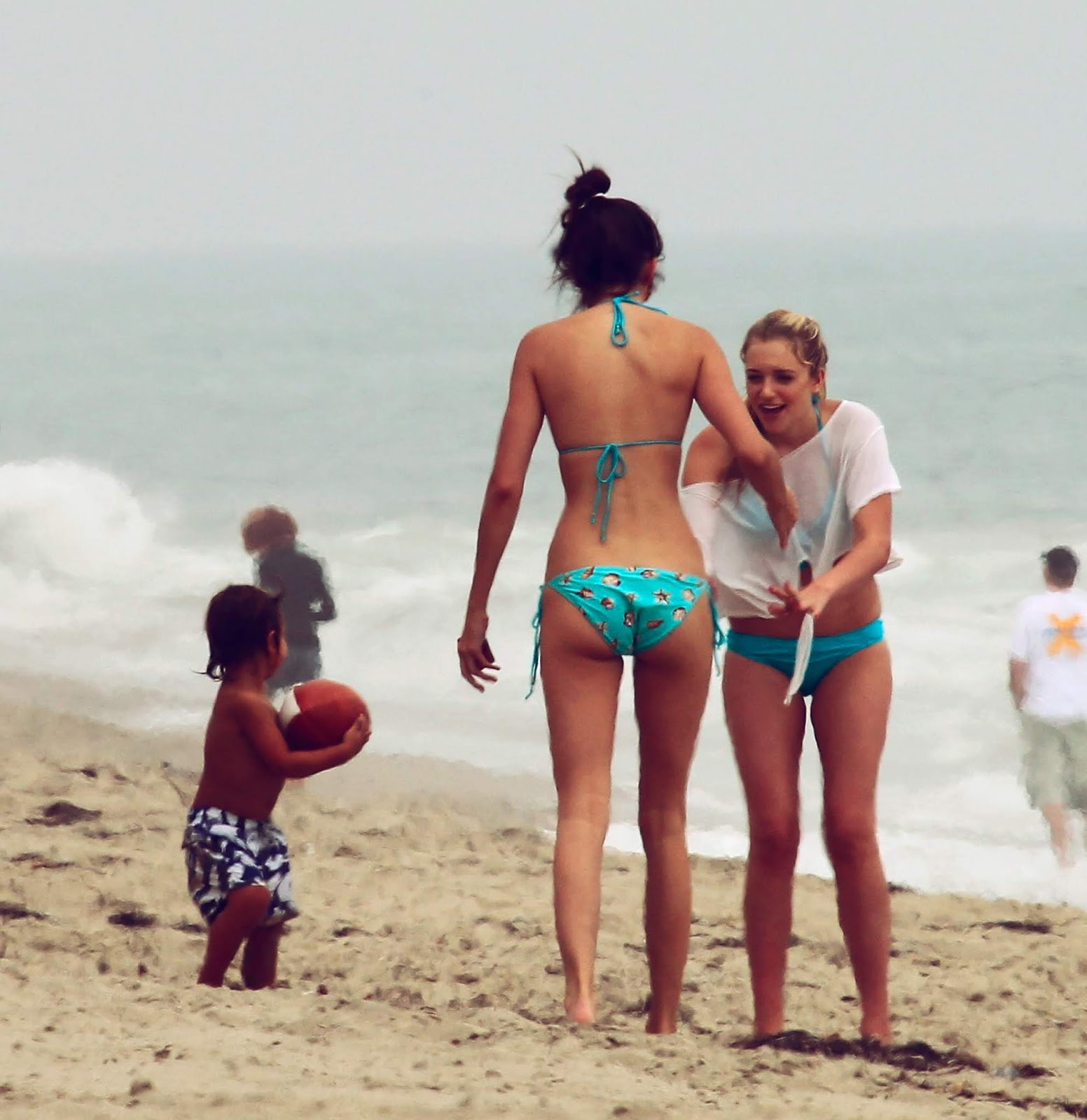 03 - At a Beach with friends in Malibu California on July 14, 2012