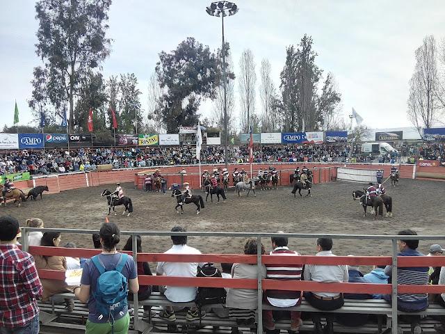 Rodeo chileno Fiestas patrias Santiago Chile