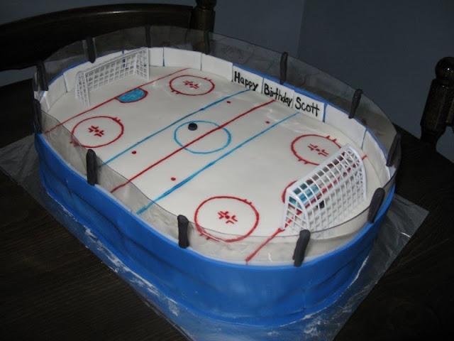 Wick D Cakes Hockey