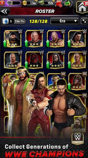 Download WWE Champions Mod Apk v0.350 Unlimited Money Android Terbaru 2019