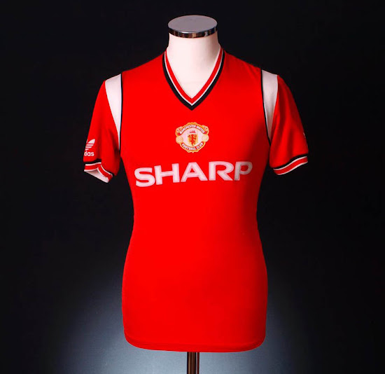 404858651ff Adidas Manchester United Home Kit History - Footy Headlines