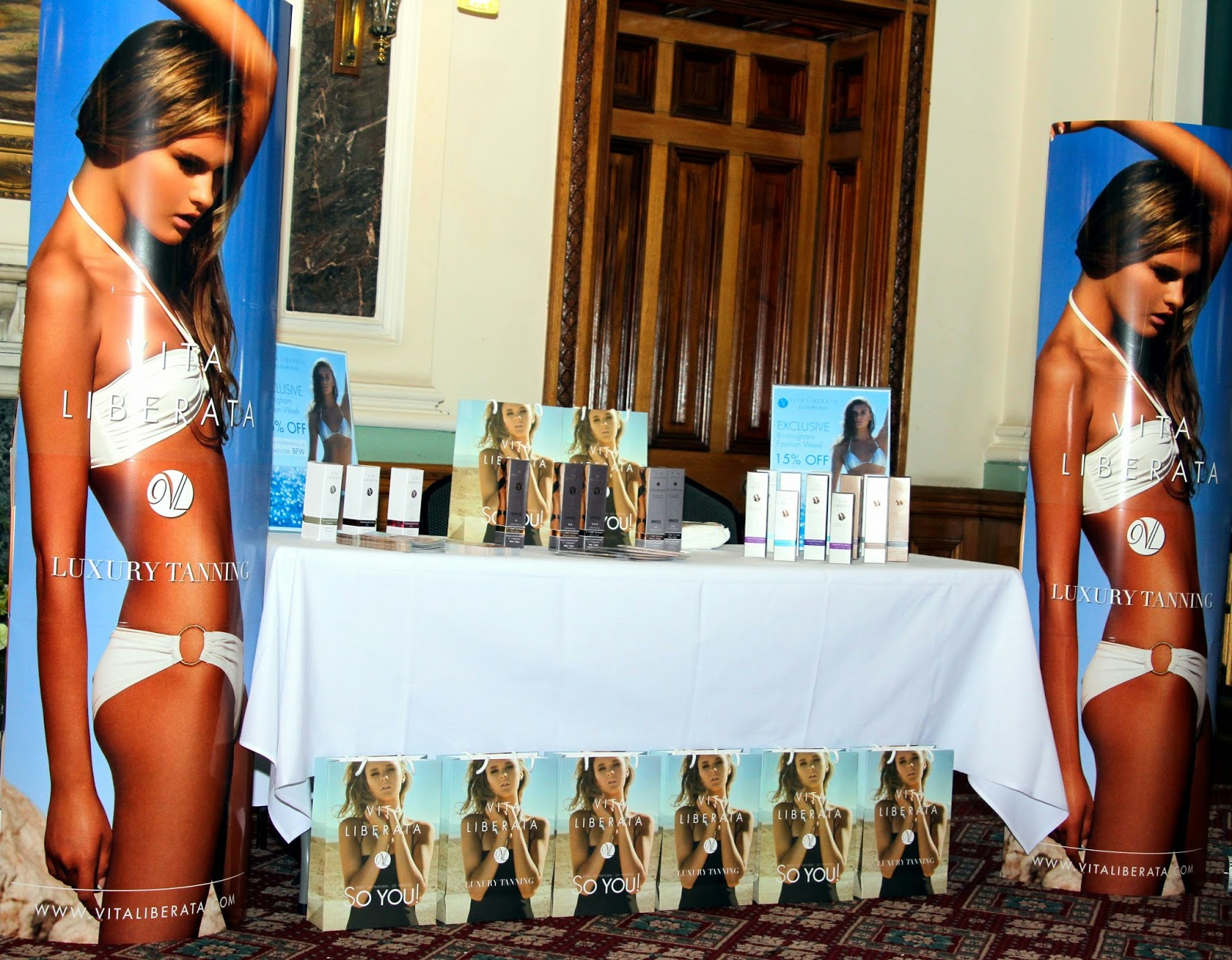 Vita Liberata Luxury Tan at Birmingham Fashion Week