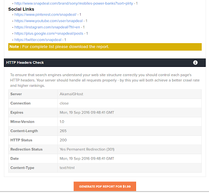 SEO Webpage Analysis Tool by lxrmarketplace