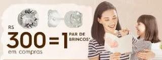 Promoção Shopping Metrô Santa Cruz Dia das Mães 2019 - Ganhe Par de Brincos