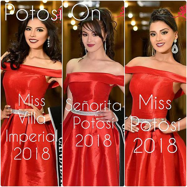 Mariela Fernández es Miss Potosí 2018