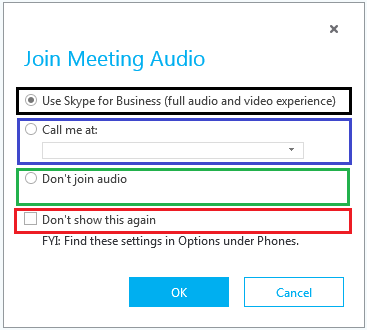 Best practices to join external Skype for Business (Lync