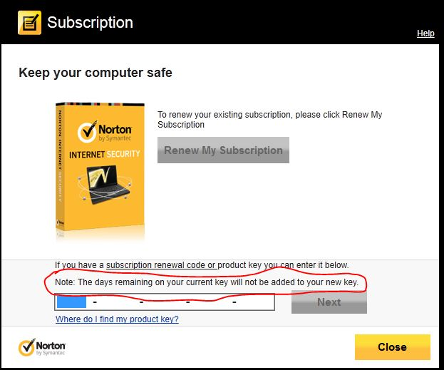My norton antivirus is not updating
