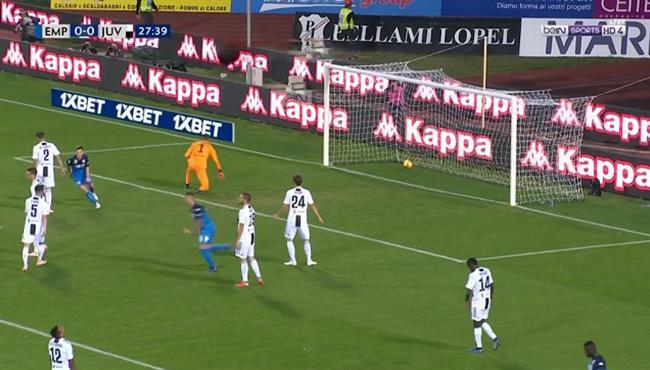 اهداف مباراة يوفنتوس وامبولي (2-1) الدوري الايطالي