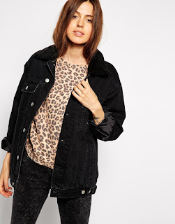 Birthday Wishlist - ASOS Borg Denim Jacket