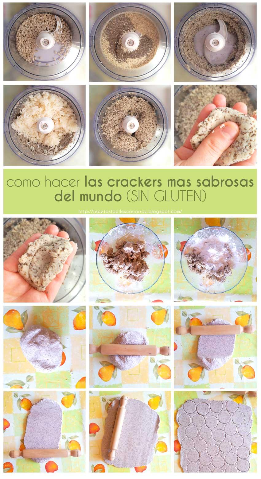 crackers sin gluten fototutorial