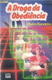 A droga da obediência. Pedro Bandeira. Série Os Karas. Editora Moderna. Coleção Veredas. Alberto Naddeo. Capa de Livro. Book Cover. 1984.