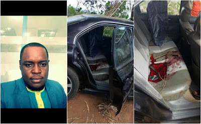 Sad: 30-Year-Old Banker & and His Female colleague Murdered Inside His Car In Imo (Graphic Photos)