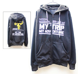 Jaket Fleece Hoodie My Trip My Adventure MTMA001