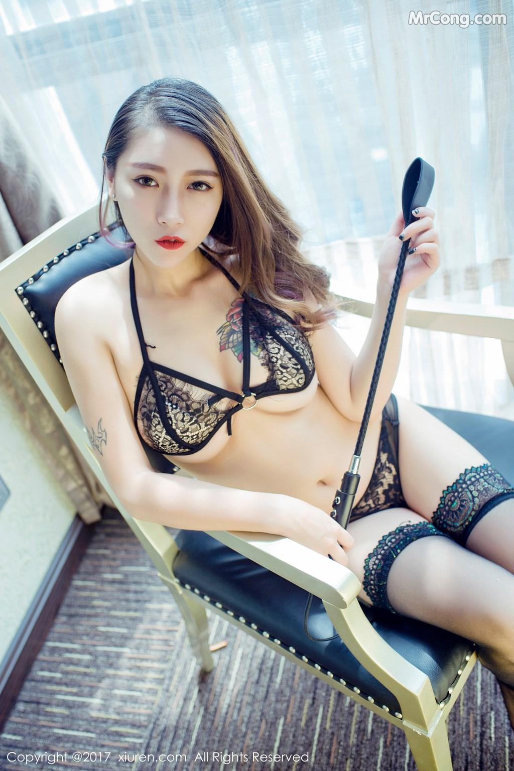Image XIUREN-No.812-Du-Hua-Hua-MrCong.com-035 in post XIUREN No.812: Người mẫu Du Hua Hua (杜花花) (48 ảnh)
