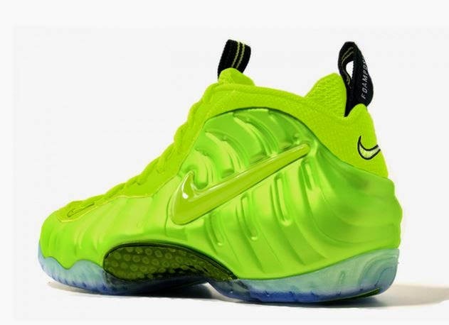 9397baf4700 Here is a look at the upcoming Nike Air Foamposite Pro Volt Sneaker hitting  retailers December 19th