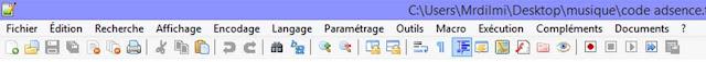 حمل ,مذكرة ,إحترافية, وجميلة, يستعملها ,غالبية, المبرمجين ,notepad++,