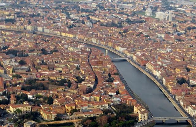 Principais pontos turísticos em Pisa