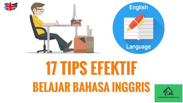 17 Tips Efektif Belajar Bahasa Inggris