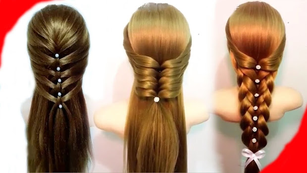 easy hairstyles girls - beauty