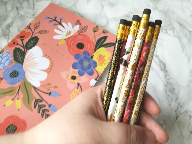 Rifle Paper Co Lively Floral Pencils