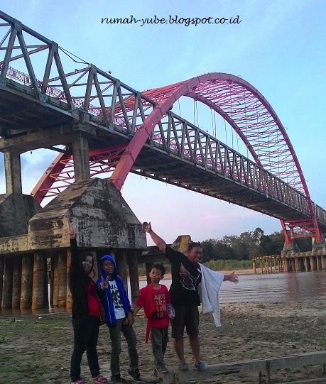 jembatan bawah sungai kahayan