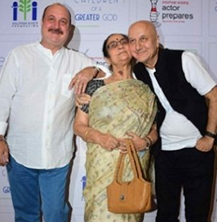 Anupam Kher Family Wife Son Daughter Father Mother Marriage Photos Biography Profile