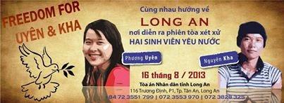Luật sư Nguyễn Thanh Lương gửi thư cho mẹ của Đinh Nguyên Kha